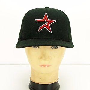 Houston Astros Black Baseball Team Cap Hat New Era